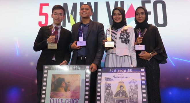 """Indonesia Menang di Seluruh Kategori Kompetisi Regional """"The 5-Min Video Challenge"""""""