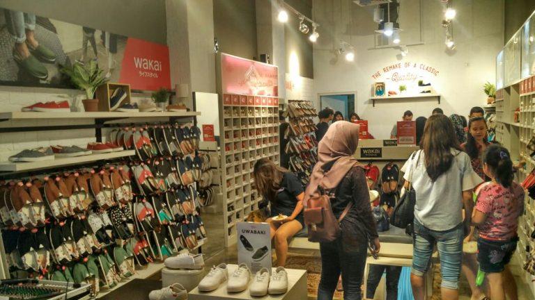 Toko Sepatu Wakai Kini Hadir di Kota Cirebon