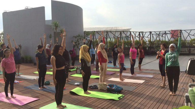 Yoga Cirebon Charity Galang Dana untuk Daffa
