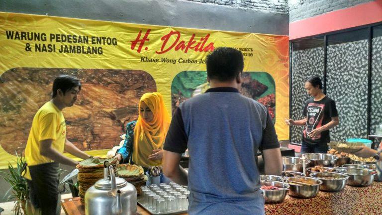 Pedesan Entog dan Nasi Jamblang H. Dakila Ramaikan Kuliner Cirebon