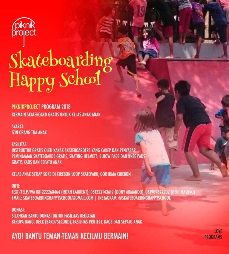 Skateboarding Happy School, Program Bermain Skateboard Gratis