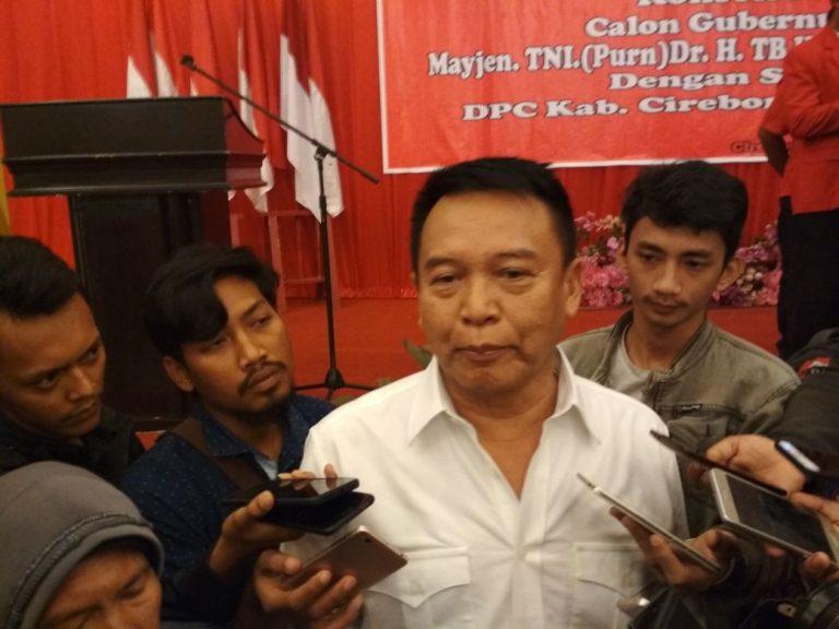Bakal Calon Gubernur Jawa Barat, TB Hasanuddin Sudah Bentuk Tim Cyber