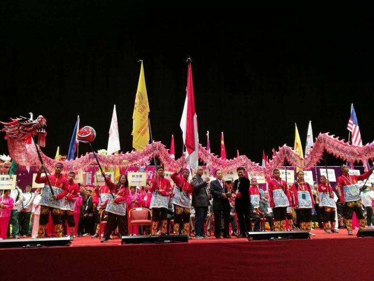Singa Mas Cirebon Rebut Juara 3 Kompetisi Barongsai tingkat Dunia