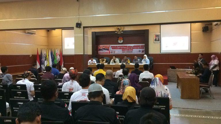 KPU Kota Cirebon Gelar Simulasi Pendaftaran Pasangan Calon Kepala Daerah