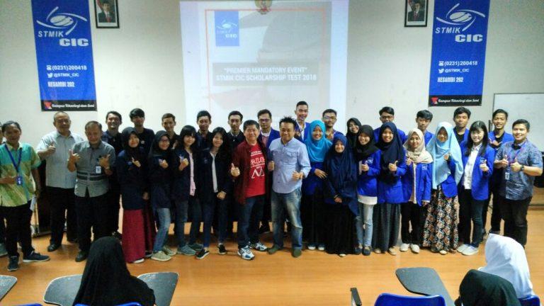 STMIK CIC Berikan Beasiswa kepada Siswa Pilihan di Wilayah III Cirebon dan Brebes