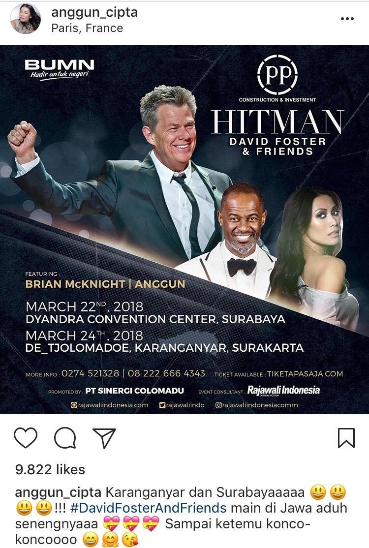 David Foster and Friends Kembali Gelar Konser di Indonesia