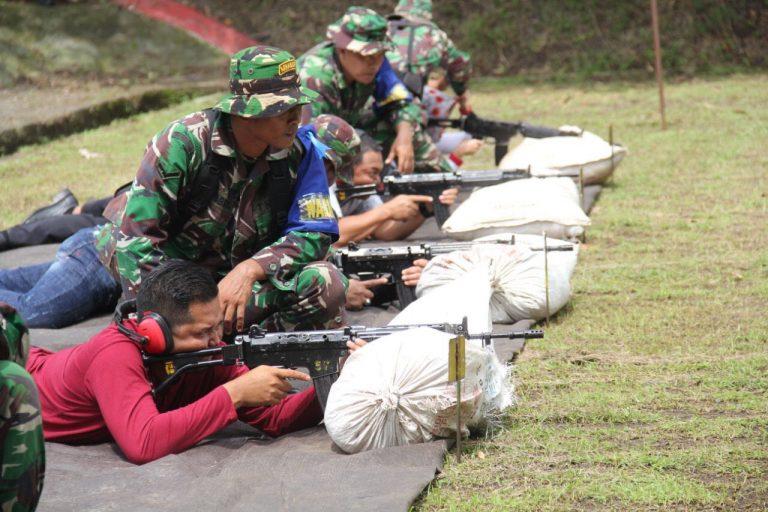 Jalin Silaturahmi, Korem 063/SGJ Gelar Menembak Bersama Mitra dan Media