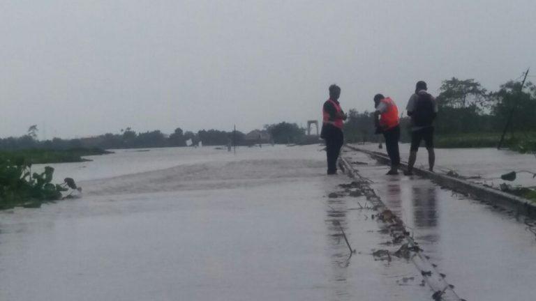 Akibat Banjir, PT. KAI Daop 3 Cirebon Lakukan Pengalihan Arus