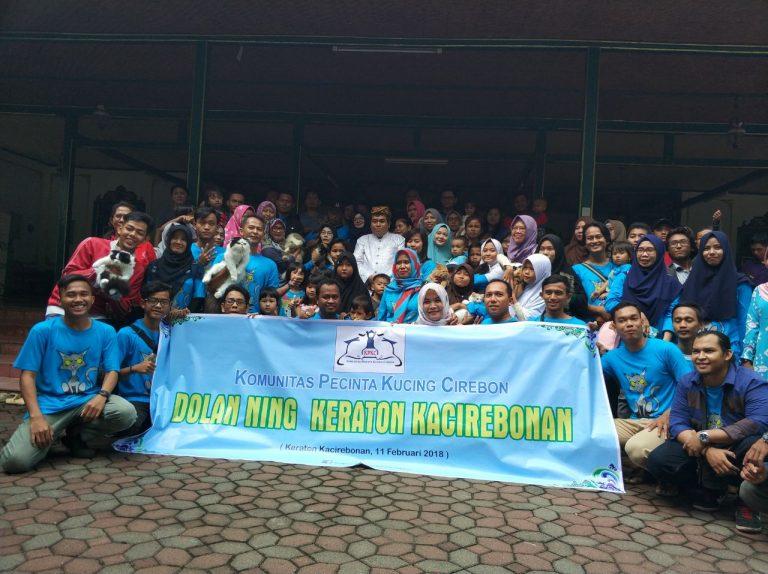 Komunitas Pecinta Kucing Cirebon Gelar Gathering di Keraton Kacirebonan
