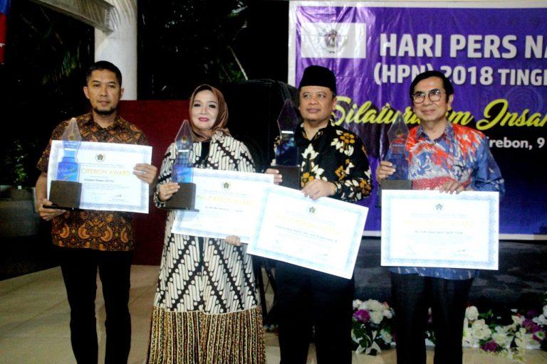 Cirebon Power Raih Penghargaan PWI Cirebon Awards 2018 di Hari Pers Nasional