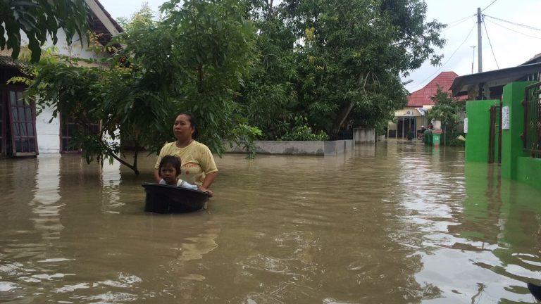 Sudah 3 Hari Desa Wanakaya Kecamatan Gunung Jati Terendam Banjir