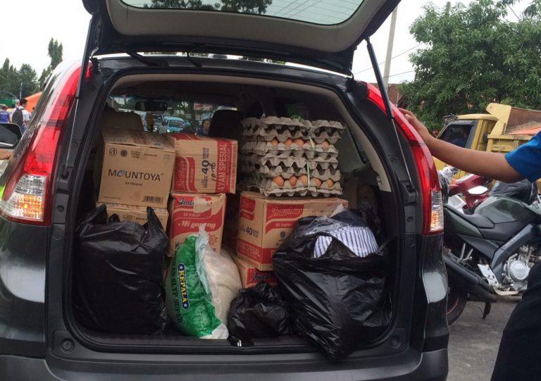 Bantuan Korban Banjir di Gunung Jati Kabupaten Cirebon Terus Berdatangan
