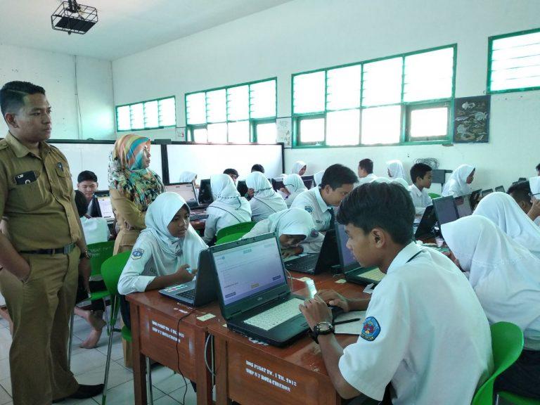 Siswa SMPN 7 Kota Cirebon Siap Hadapi UNBK