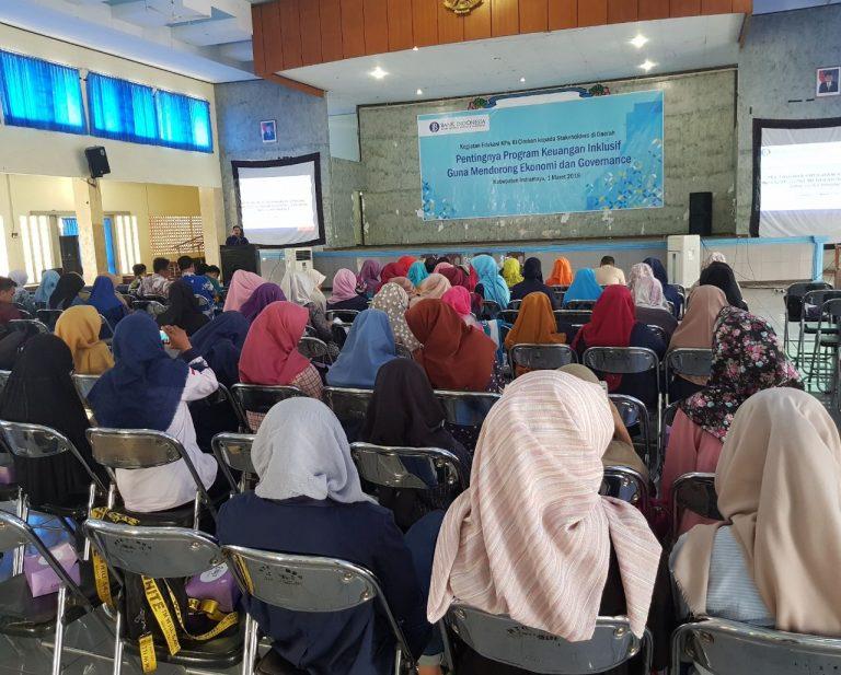 BI Cirebon Gelar Edukasi Program Keuangan Inklusif Kepada Mahasiswa dan Guru
