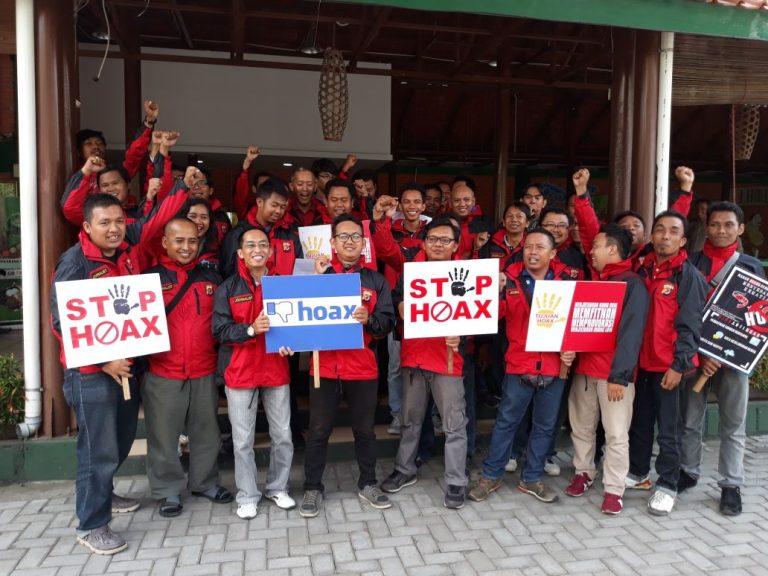 Jurnalis Kota Cirebon Deklarasi Anti Hoax Bersama Polres Cirebon Kota