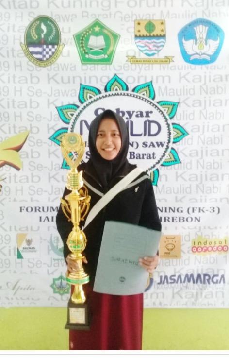 Ratu Lintang, Siswa SMAN 6 Kota Cirebon Juara 1 MTQ se-Jabar