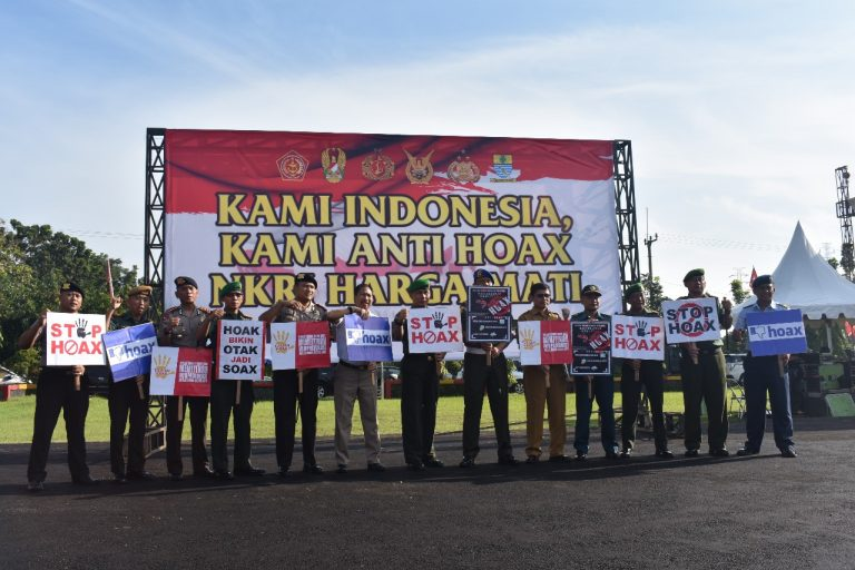 Forkopimda Kota Cirebon Gelar Deklarasi Anti Hoax