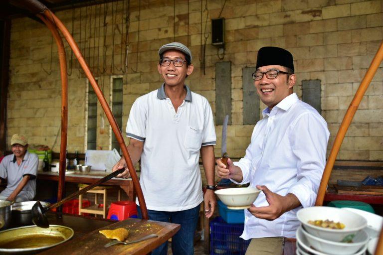Kang Emil: Kalau ke Cirebon Selalu Mampir ke Empal Gentong H. Apud
