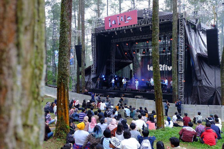 Telkomsel Ajak Pengunjung LaLaLa Festival Rasakan Pengalaman Digital Di Tengah Hutan