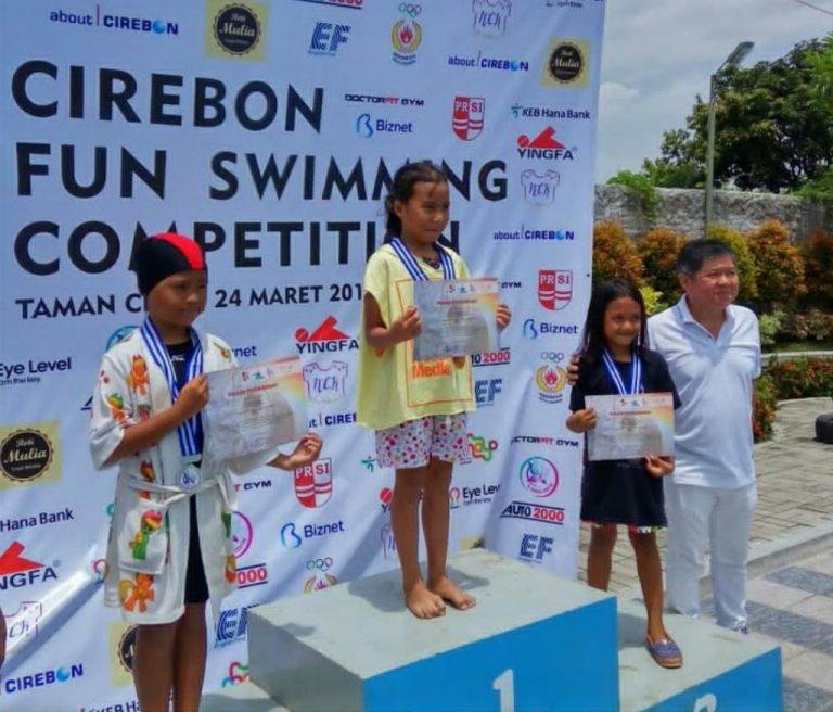 Cirebon Fun Swimming Competition Cetak Atlet Renang Berprestasi