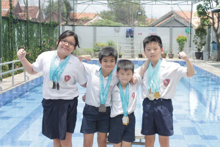Kinderfield School Miliki Banyak Siswa Berprestasi di Olahraga Renang