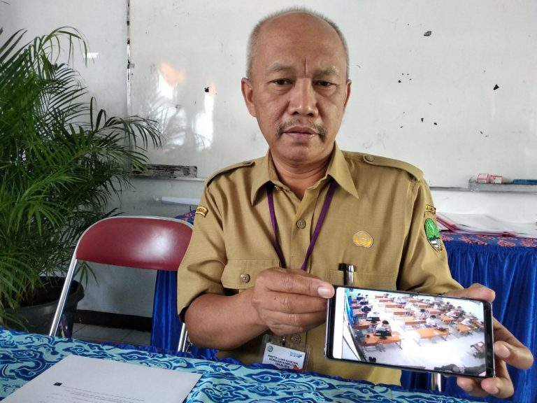 465 siswa SMAN 2 Kota Cirebon Ikuti UNBK