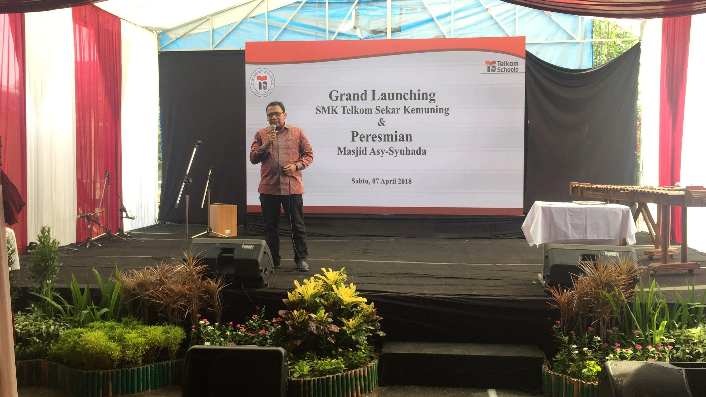 Konsep K3 Kini Hadir di SMK Telkom Sekar Kemuning Cirebon