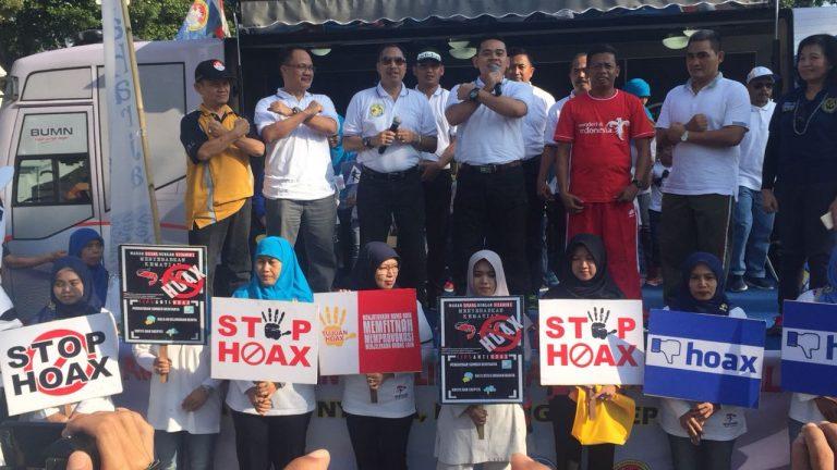 Kapolres Cirebon Kota: Kita Harus Menolak dan Memerangi Berita Hoax