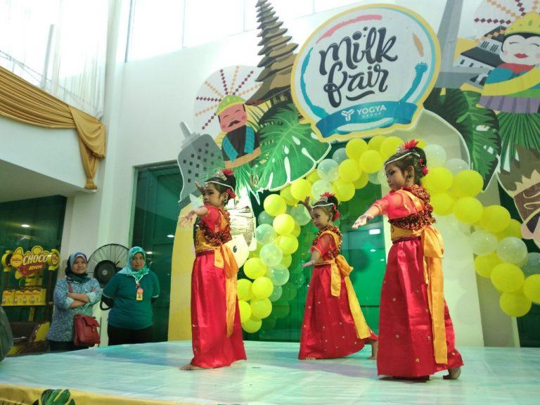 Asah Kreativitas Anak Melalui Milk Fair di Yogya Grand