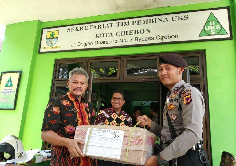 Hari ini Naskah Soal UNKP Tingkat SMP/MTs Tiba di Disdik Kota Cirebon