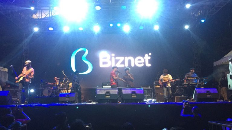 Kemeriahan Biznet Festival 2018 di Cirebon