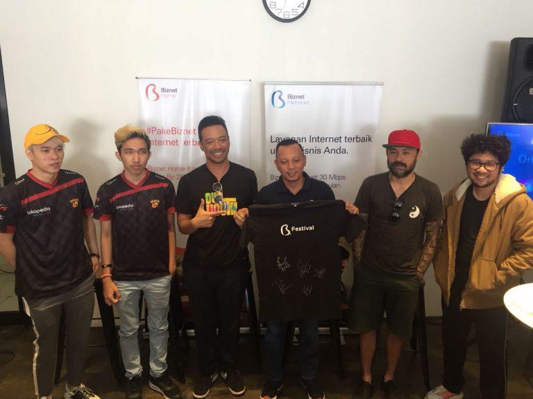 Shaggydog dan Kunto Aji akan Berkolaborasi dalam Acara Biznet Festival di Cirebon