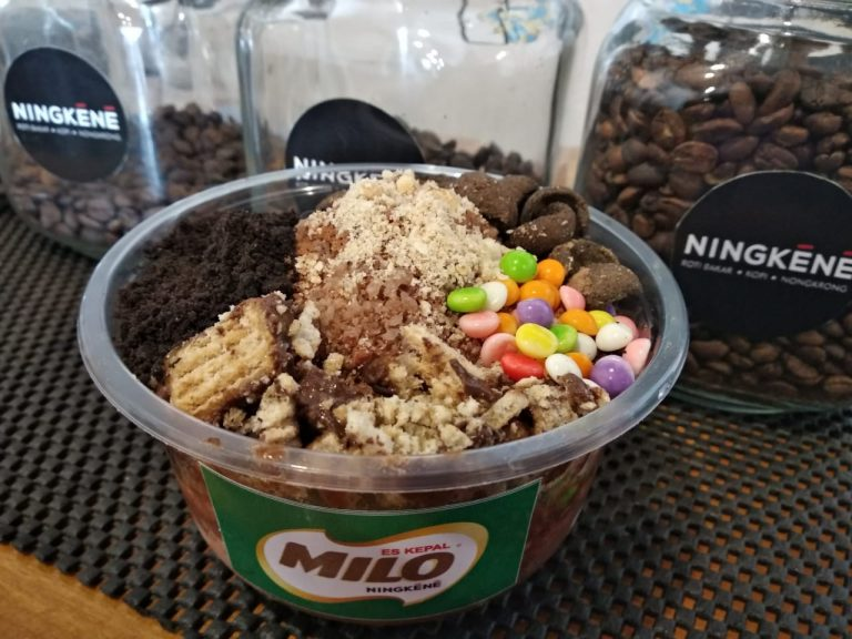 Ini Dia Es Kepal Milo yang Berasa Sekali Milonya
