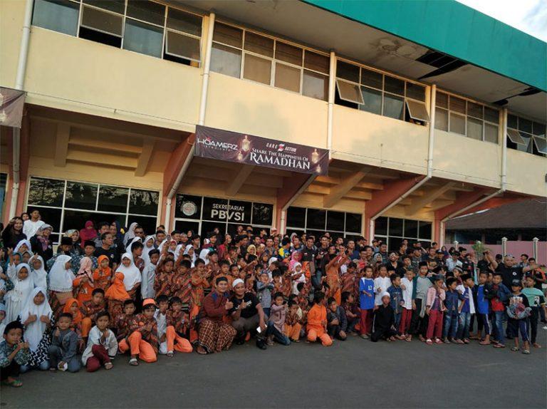 Hoamerz Cirebon Buka Puasa Bersama 500 Anak Yatim