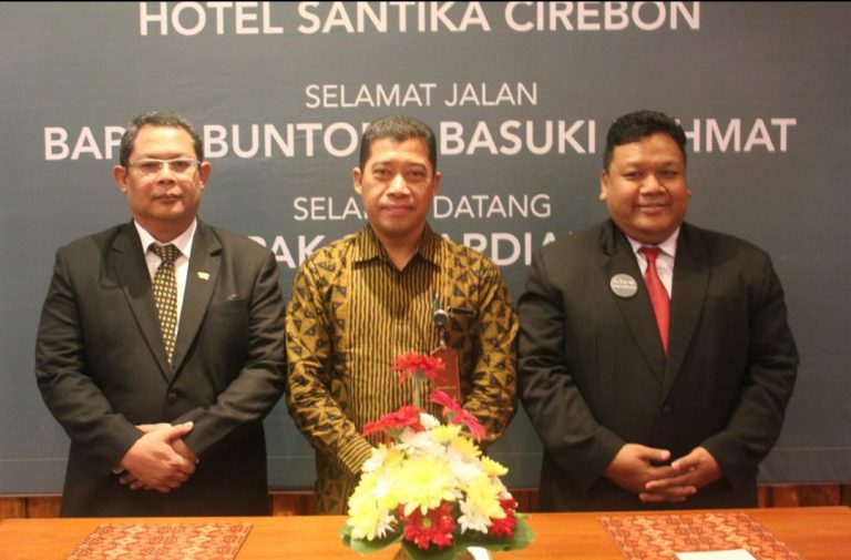 Hotel Santika Cirebon Sambut General Manager Baru