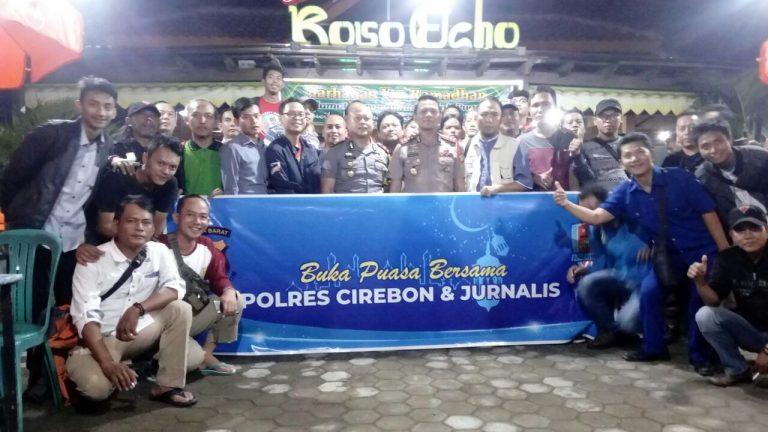 Buka Puasa Bersama Media, Kapolres Cirebon Ingin Silaturahmi Bisa Terus Terjaga