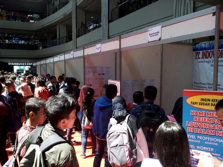 Wow 1.667 Lowongan Kerja Ramaikan Job Fair 2018 di CSB Mall