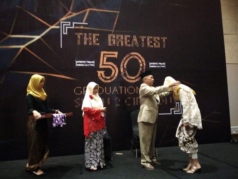 Graduation SMA Negeri 2 Cirebon Berlangsung Suka Cita