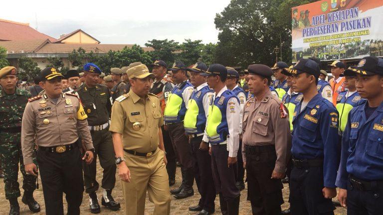 1.050 Anggota Gabungan Siap Amankan Pilkada Serentak di Kota Cirebon