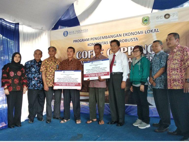 BI Cirebon Support Para Petani Kopi Cibeureum Kuningan Untuk Meningkatkan Ekonomi Kerakyatan