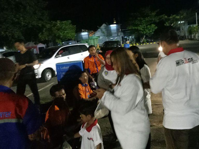 Komunitas IMEC Cirebon Lakukan Sahur On The Road