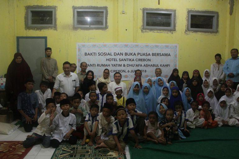 Hotel Santika Cirebon Berbagi Kebahagiaan di Bulan Ramadan