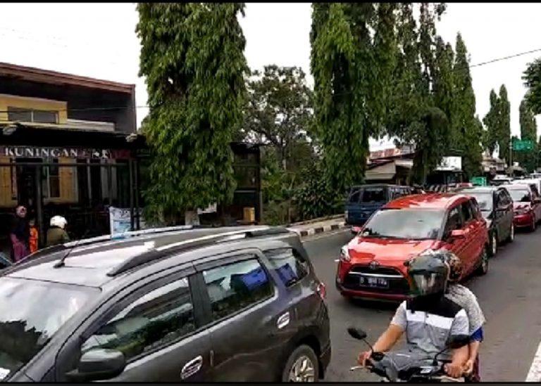 Libur Lebaran, Jalur Cirebon – Kuningan Padat Merayap
