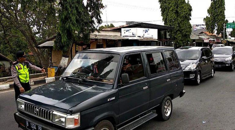 Polisi Himbau Agar Pengguna Jalan Tak Ngebut