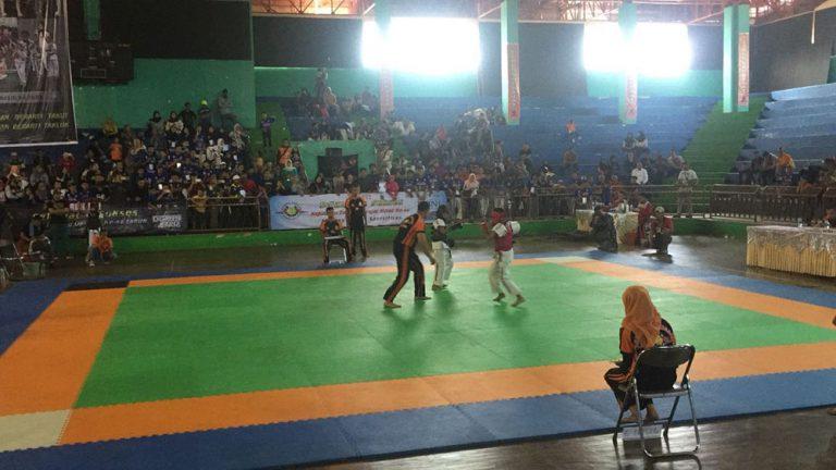 295 Atlet Usia Dini dan Pelajar Ikut Kejuaraan Tarung Derajat se-Jawa Barat di Kota Cirebon