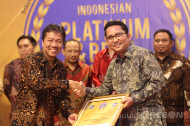 Cirebon Power Raih Penghargaan The Most Trusted Company of The Year