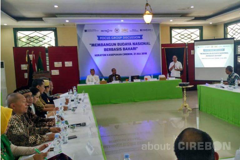 FGD di Keraton Kasepuhan Bahas Membangun Budaya Nasional Berbasis Bahari