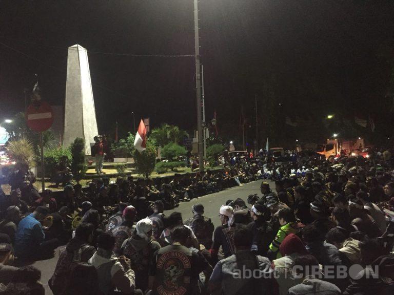 Ratusan Masyarakat Peringati Proklamasi 15 Agustus 1945 di Tugu Siliwangi
