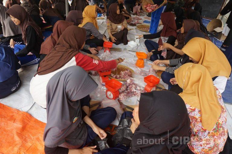 Idul Adha, SMAN 2 Kota Cirebon Sembelih 5 Sapi dan 7 Kambing