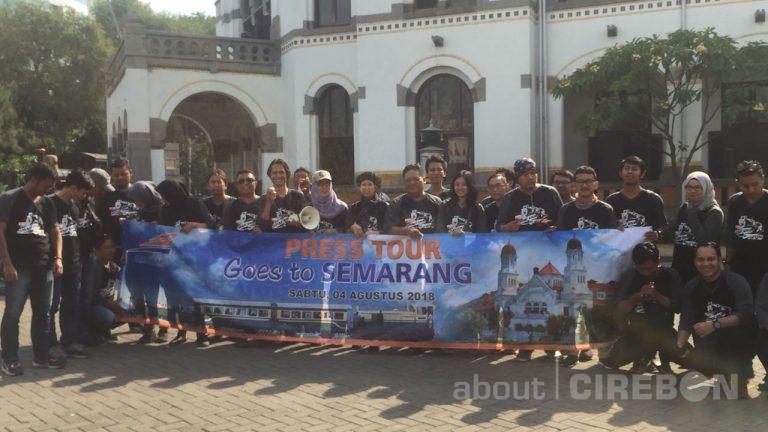 Mengenalkan Perkembangan Perkeretaapian, Daop 3 Cirebon Gelar Press Tour Goes to Semarang